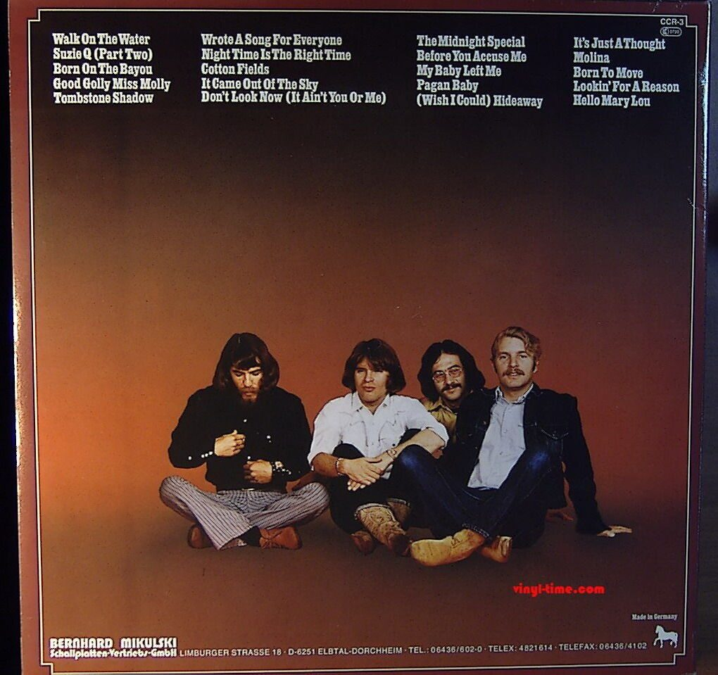 creedence clearwater revival interpersonal issues Travelin band ccr tribute 369 likes a tribute to the great creedence clearwater revival performed by masters of the sixties and seventies music genre.