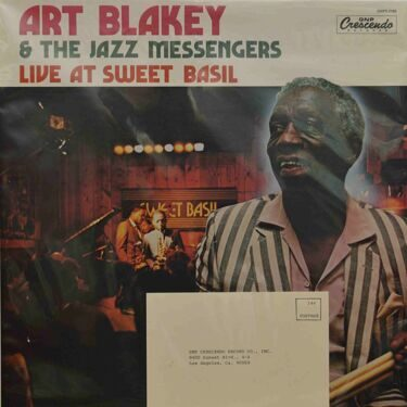 Art Blakey & The Jazz Messengers  -  Live At Sweet Basil