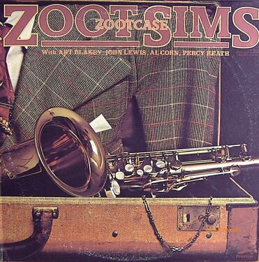 Zoot Sims - Zootcase, with Art Blakey, John Lewis, Al Cohn, Percy Heath,  2 LP