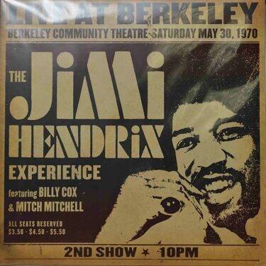 Jimi Hendrix  -  Live At Berkeley, May 30, 1970, 2LP