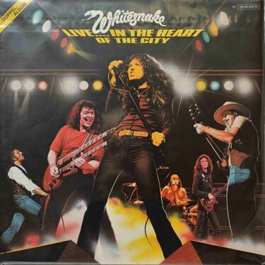 Whitesnake - Live... In The Heart Of The City , 2 LP