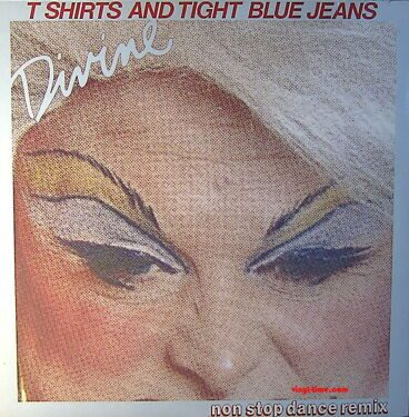 Divine - T Shirts And Tight Blue Jeans