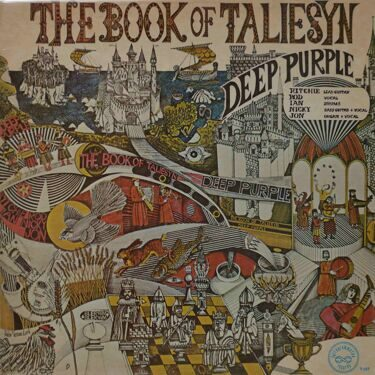 Deep Purple  -  The Book Of Taliesyn, 1969