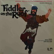 Isaak Stern, Music By John Williams  -  Filder On The Roof, (Original Soundtrack), 2LP
