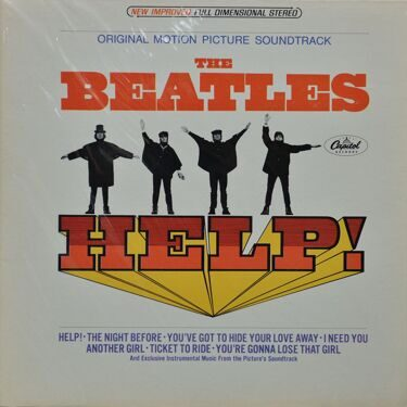 Beatles  -  Help!, (Original Motion Picture Soundtrack)