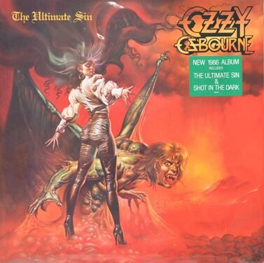 Ozzy Ozbourne  -  The Ultimate Sin
