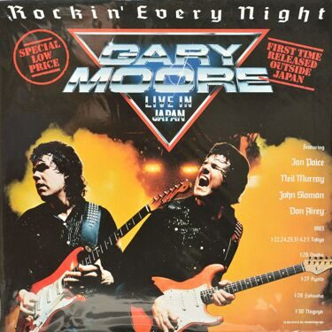 Gary Moore  -  Rockin' Every Night, Live In Japan