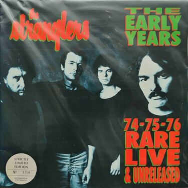 Stranglers  -  The Early Years 1974, 1975, 1976, Rare Live & Unreleased, 2 LP