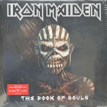 Iron Maiden  -  The Book Of Souls, 3 LP