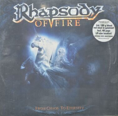 Rhapsody Of Fire  -  From Chaos To Eternity, 2 LP