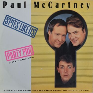 Paul MCCartney  -  SpiesLike Us, (Title Song From The Warner Bros. Motion Picture)