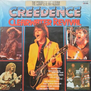 Creedence Clearwater Revival  -  The Complete Hit-Album, 2 LP