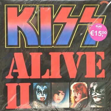 Kiss  -  Alive 2, 2 LP